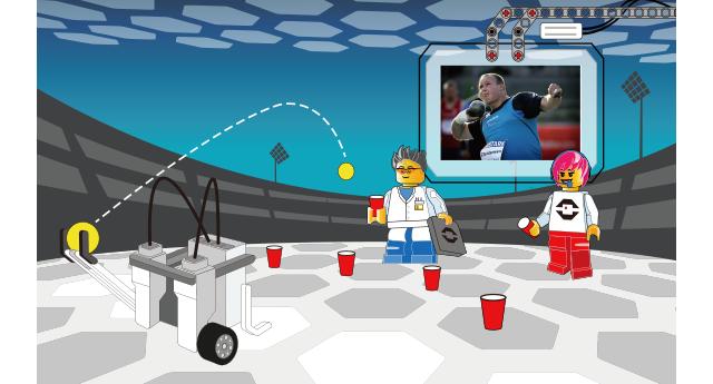 『ロボット スポーツ キャンプ』